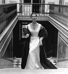 Anne Gunning, Paris Collections, for Vogue 1952