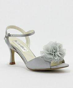 dede842dd103 Coloriffics Bristol - Silver Strappy Sandal with Bow Prom Shoes Online