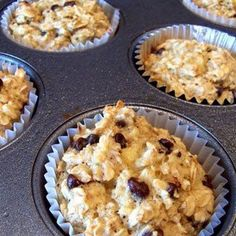 Banana Oatmeal Cupcakes - I actually made these. They are okay but need some extra sweetener like honey or even some butter :)