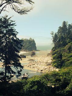 Washington coast interstate 1 road trip