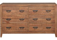 Palm Grove Brown Dresser . $499.99. 62W x 18D x 36H. Find affordable Dressers for your home that will complement the rest of your furniture.