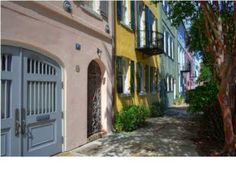 Rainbow Row, Charleston, SC This one is only $5,998,000