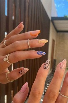 30 Nail Inspiration Pics To Take To Your Nail Tech - EmptySoda Empty Soda is your daily shopping resource, curated for real life. From mega guides to staples like cropt ops, to styling tips for hard-to-wear trends, to spotlights on the best items you have to have now, all your shopping intel is right here. #steertwear #nailart #nailtrend #vscogirls #fashion #streetfashion #trendingfashin #ootd #whattowear #fashiontrend #shopping #shoptrendy #grunge #grungeoutfit #trendyoutfit… Edgy Nails, Grunge Nails, Funky Nails, Stylish Nails, Swag Nails, Cute Nails, Kylie Nails, Black Nails, Pretty Nails