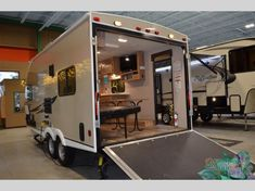 New 2018 Coachmen RV Freedom Express Blast Toy Hauler Travel Trailer Toy Hauler Travel Trailer, Cargo Trailers, Camper Trailers, Super C Rv, Two Door Refrigerator, Motorcross Bike, Off Road Experience, Cargo Trailer Conversion, Coachmen Rv