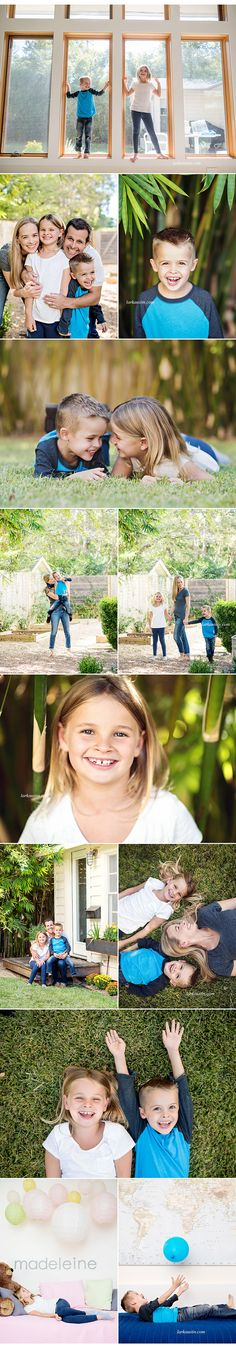 A fun, natural, casual and modern family portrait session in Austin!
