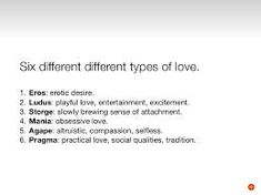 the different types of love - 235×176