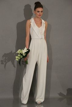 If wedding dresses aren't your thing, these jumpsuits are as beautiful as any dress. Description from uk.pinterest.com. I searched for this on bing.com/images