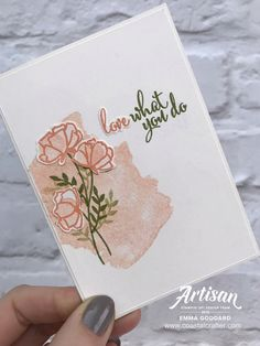 Share What You Love [1] – Stampin' Up! Artisan Blog Hop