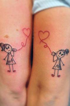Tatouage soeurs modèle