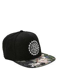 18ea63ff HOTTOPIC.COM - Black Butler Tetragrammaton Snapback Hat Black Butler  Merchandise, Anime Merchandise,