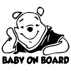 HotMeiNi Car Sticker 15*12.5CM BABY ON BOARD Lovely Car Sticker Decal Motorcycle Decoration Accessories
