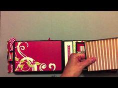 Echo Park Seasons Greetings Paper Bag Mini Album (+playlist) LOVE THE PAGES SO CRISP AND CLEAN