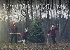 Lumberjack family - oh my word. That may need to be the caption on our Christmas card this year!!!!