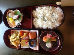 Japanese o-bento boxed meal.