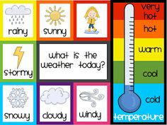 love this--  A day in first grade: freebie (can put a clothespin on the weather for the day) comes with matching weather graphs!