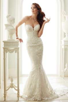 Wedding gown by Sophia Tolli