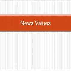 News Values   By conducting a lot of research I have come to the conclusion that negative news is the key selling point for many well known newspapers. Th. http://slidehot.com/resources/news-values-pptx-media.26940/