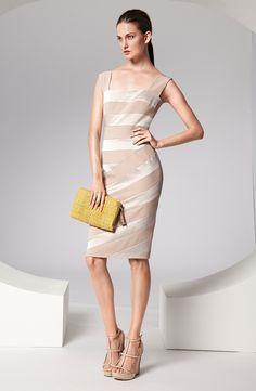 Sublte and Striking Sleeveless Summer Dress by Escada