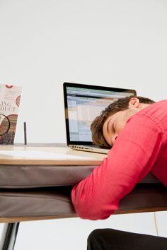Great work desk for little naps:)