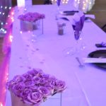 Main table decor Plum Wedding, Birthday Candles, Make It Yourself, Table Decorations, How To Make, Dinner Table Decorations