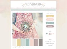 SALE 50% off - Web & Blog Kit - design elements to decorate your creative or photography blog by imagegarden on Etsy https://www.etsy.com/listing/101681725/sale-50-off-web-blog-kit-design-elements
