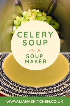 Celery soup has surprisingly become one of my favourite soups of late. Why surprising? I don't really like celery (!) But this celery soup recipe is sooooo tasty. And the best bit? It comes in at only 54 calories per serving! Slimming World Soup Recipes, World Recipes, Tortillas, Morphy Richards Soup Maker, Healthy Soup, Healthy Recipes, Celery Recipes, Ramen, Celery Soup