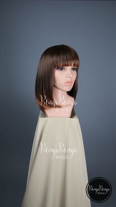 Red Black Ombre Wig / Straight Long Bob + Bangs / Short Halloween Party Fashion Beauty Punk Anime Cosplay World of Warcraft…