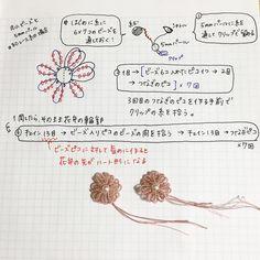 """167 Likes, 19 Comments - @kukutail on Instagram: """"パターン書くのってホント難しい( ・ ・̥ ) なんか、 伝わる気がしません(≡︎人≡︎;)スィマセン... #tattinglace #tattingflower #タティングレース…"""""""