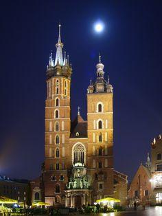 Main sqaure (Rynek), Cracow Poland