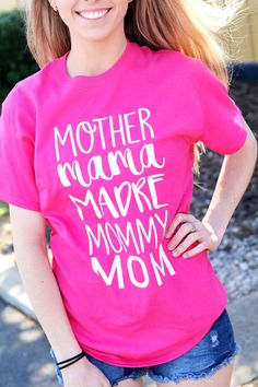 Personalized gifts for all occasions - baby, wedding, graduation and more; adding a personal touch is easy when you shop with us. Personalized Shirts, Chic Outfits, Mini, Active Wear, Fashion Accessories, T Shirts For Women, My Style, Lady, Tees