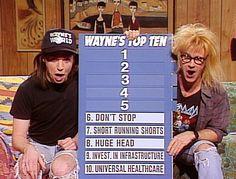 Saturday Night Live: Mike Myers & Dana Carvey in Wayne's World #SNL
