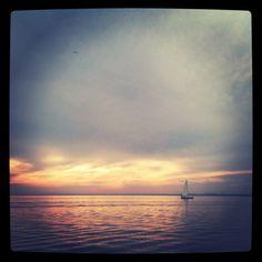 Sail the Great Lakes (love this shot of Lake Ontario)