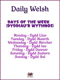 Daily Welsh: https://www.facebook.com/photo.php?fbid=624321864256784=a.134735423215433.17340.131420090213633=1