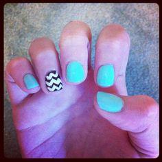 my mint nails :)