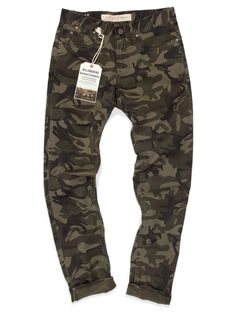 Light Weight Camo pants from Williamsburg Garment Company