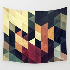 yncyrtyynty  Wall Tapestry by Spires - $39.00