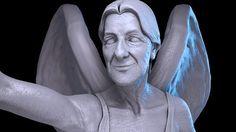 Trabalho feito por Alexandrino no Zbrush e renderizado com Vray no 3D Max