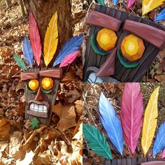 Aku aku mask I made over this last week. Just a little project for myself. Let…