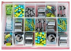 Teacher Gift: box of teacher goodies