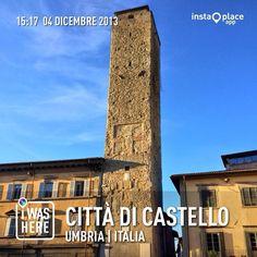 Città di Castello - città rinascimentale a confine con la Toscana.