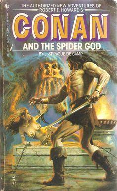 Conan and The Spider God. by L. Sprague de Camp.