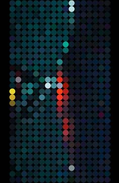 Dot painting we're making our way into the metro, into the busy creative world, into the digital age where all ideas cross paths Graphic Design Typography, Graphic Art, Generative Art, Blog Deco, Art Graphique, Dot Painting, Graphic Patterns, Grafik Design, Geometric Art