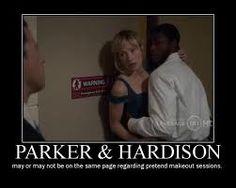Leverage parker and hardison dating