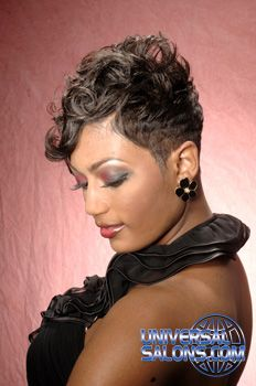 Black Hair Salons, Styles and Models - Universal Salon | hair ...