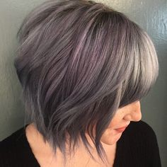 30 Popular Medium Bob Hairstyles 2018 - Hairstyles Ideas - Here are several trendiest medium bob hairstyles 2018 we have prepared available for you. Hurry to submit this gallery response. Bob Hairstyles 2018, Square Face Hairstyles, Medium Bob Hairstyles, Cool Hairstyles, Sassy Haircuts, Layered Bob Haircuts, Wavy Hair, New Hair, Lavender Hair Colors