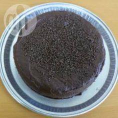 Фото рецепта: Шоколадный торт на пиве