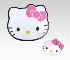 Hello Kitty Optical Mouse with Mouse Pad $29.99