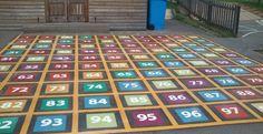 Playground Line Markings