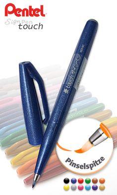 Pentel Sign Pen - touch Faserschreiber - ZEICHEN-CENTER EBELING GmbH