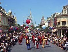 'Cavalcade of Characters' At Magic Kingdom Park Disney Vacations, Disney Trips, Disney Parks, Walt Disney World, Disney Cruise, Old Disney, Disney Love, Disney Stuff, Disney World Characters